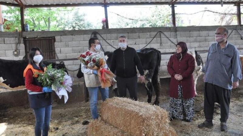 İhbarlaçağırdığı, veteriner hekimlerin günlerini kutladı