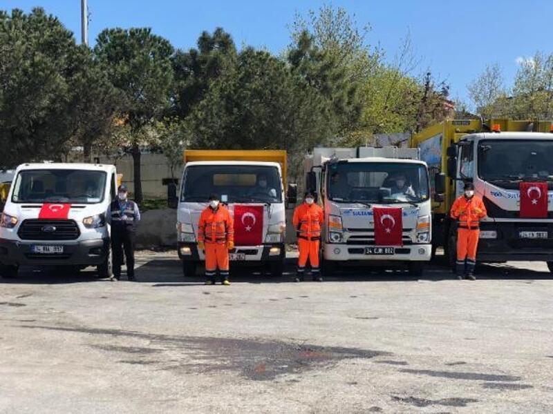 Temizlik işçilerinin korona mücadelesi