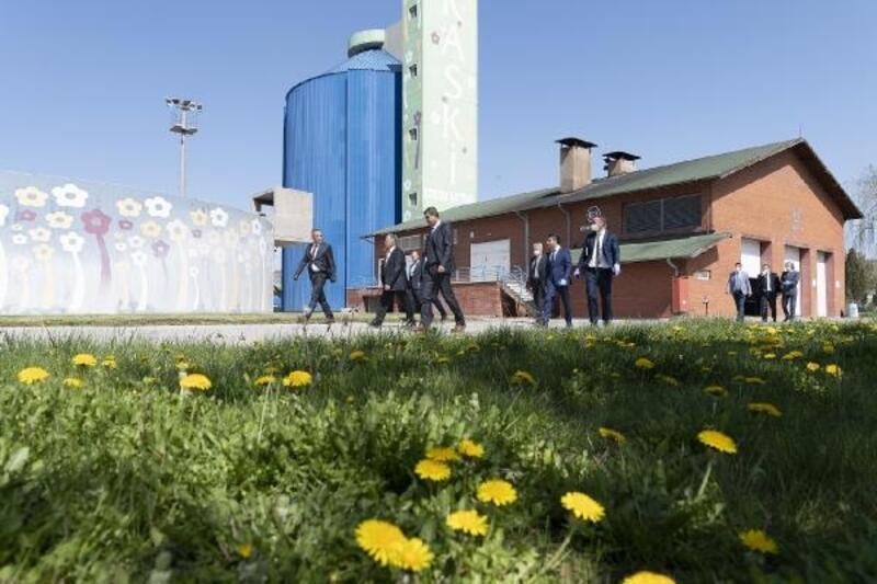 Başkan Büyükkılıç, arıtma tesisini inceledi