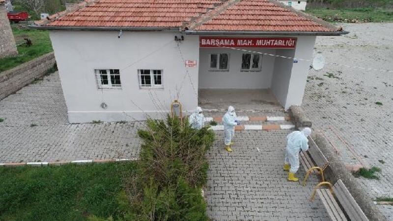Kocasinan'da virüs temizliği sürüyor