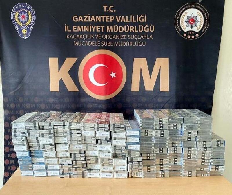 Gaziantep'te kaçak sigaraya 1 gözaltı