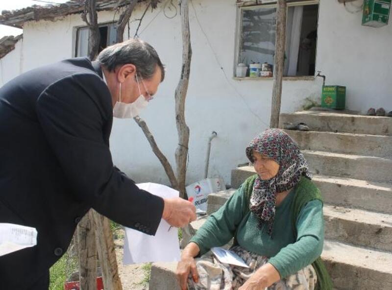 Manyas'ta VEFA Sosyal Destek Grubu, vatandaşların yardımına koşuyor