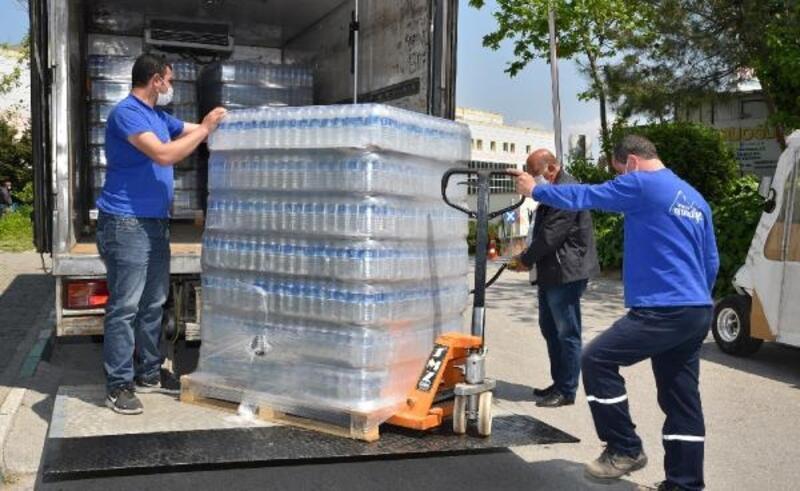 Bursa Büyükşehir Belediyesi'den hastanelere içme suyu