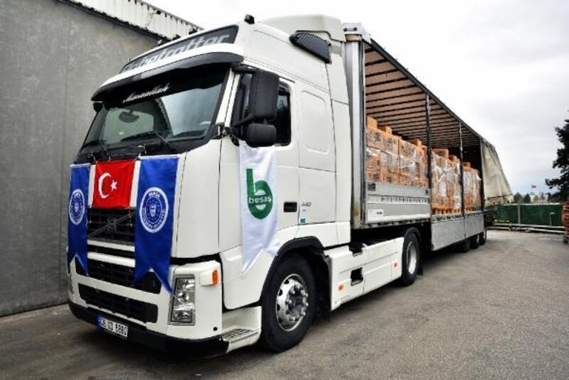 Bursa Büyükşehir Belediyesi'nin yardım eli sınırları aştı