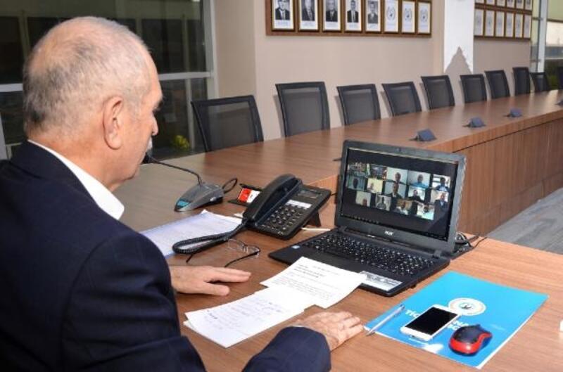 ATB'de meclis toplantısı videokonferans yöntemiyle gerçekleşti
