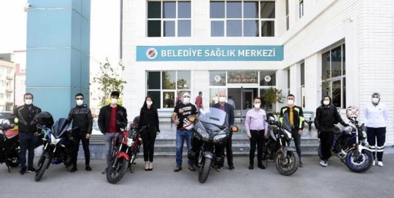 Vefa desteğe motorize ekip