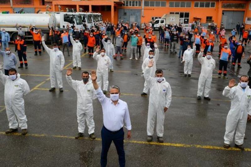 Başkan Uysal, 1 Mayıs öncesi işçilerle buluştu