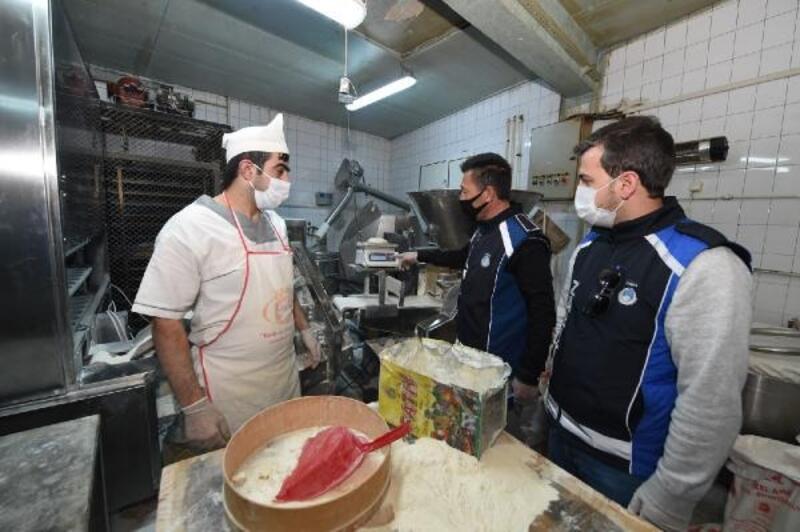 Altındağ'da fırınlara Ramazan denetimi
