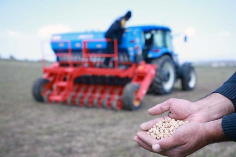 Talas'tan çiftçiye 9 ton tohum desteği