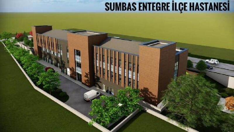 Sumbas ve Toprakkale'ye entegre hastane