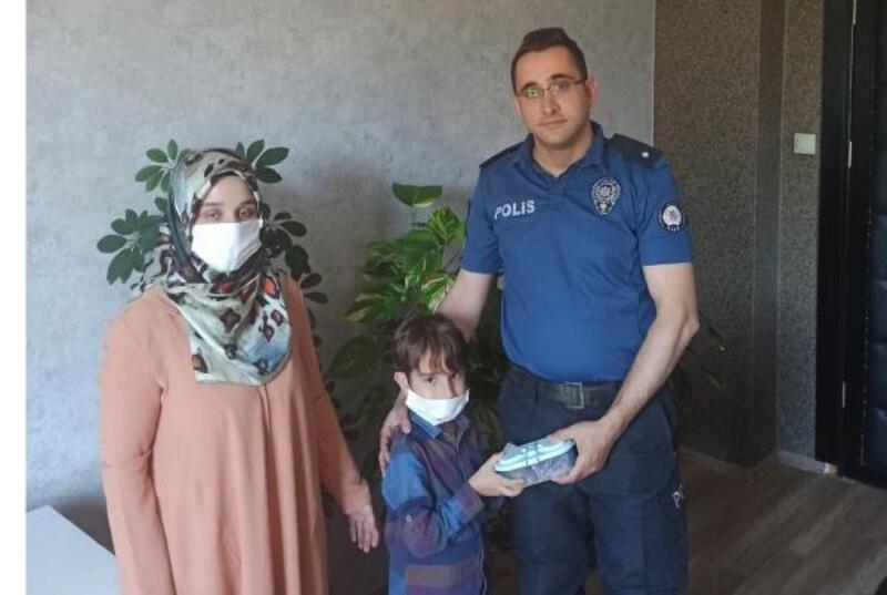6 yaşındaki Yavuz Selim kumbarasındaki 210 TL'yi bağışladı
