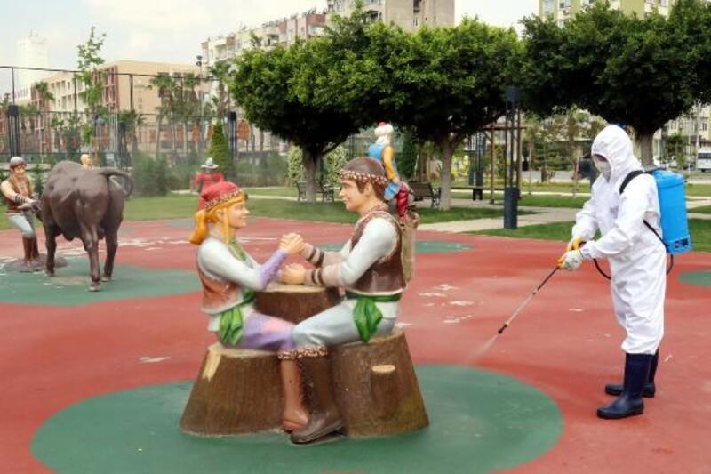 Akdeniz'in parkları yaşlılar ve çocuklar için hazırlanıyor