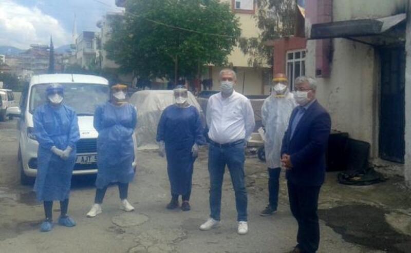 Manavgat'ta koronavirüs vaka sayısı 6