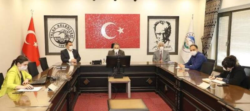 Talas'ta tarihe uygun projeler için toplantılar gerçekleştiriliyor