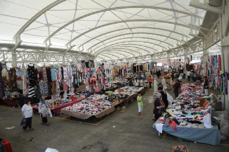 Nilüfer'de giyim pazarları hafta içinde açılacak