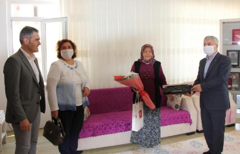 Kaymakam Yiğit'ten Anneler Günü ziyaretleri