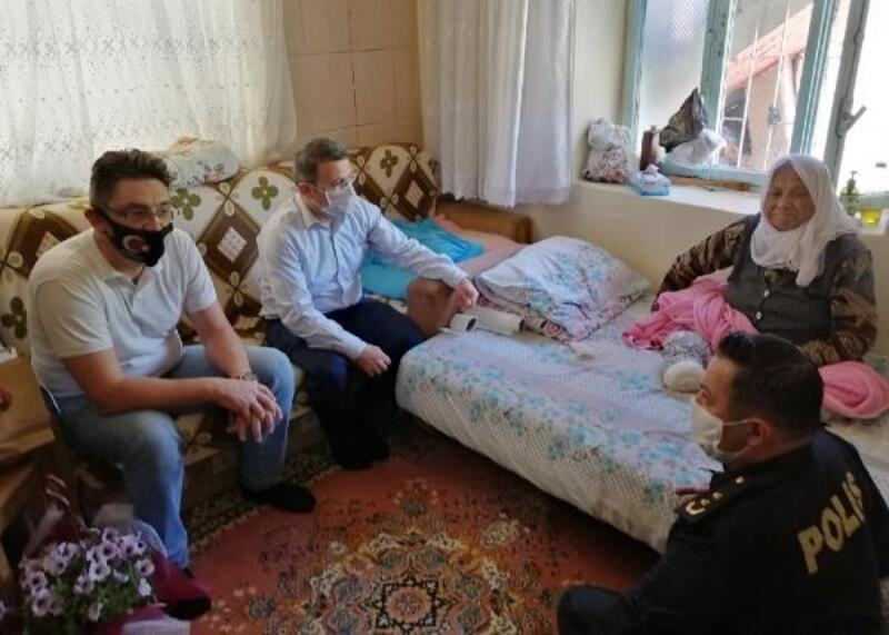 Korkuteli'de annelere ziyaret