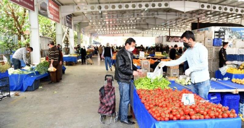Muratpaşa'da hafta sonu pazarlar açılıyor