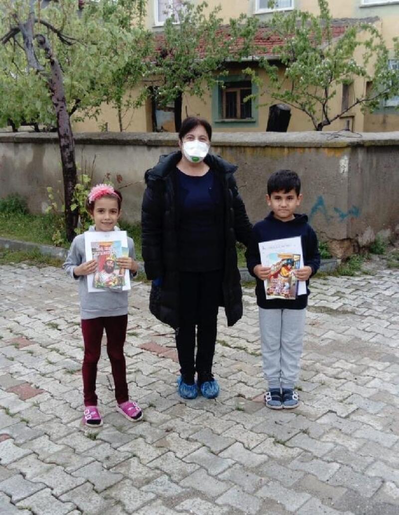 Bayat'ta 'Evde Eğitim Var' projesi