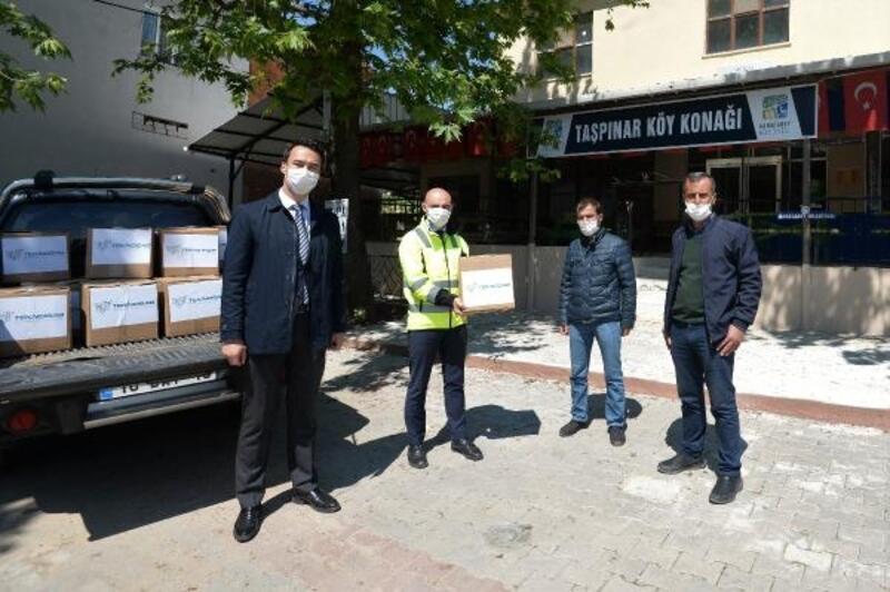 TEKNOSAB'dan Karacabey'deki ihtiyaç sahiplerine bin koli gıda yardımı