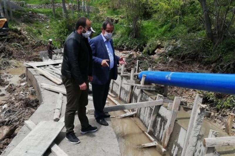 Adilcevaz Belediyesi'nden 'tarımsal sulama kanalı' projesi