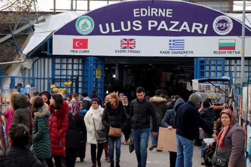 Edirne'nin 'uluslararası' pazarı, 2 ayın ardından kapılarını açıyor