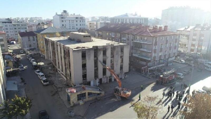 Sivas'ta kaçak yapılarla mücadele