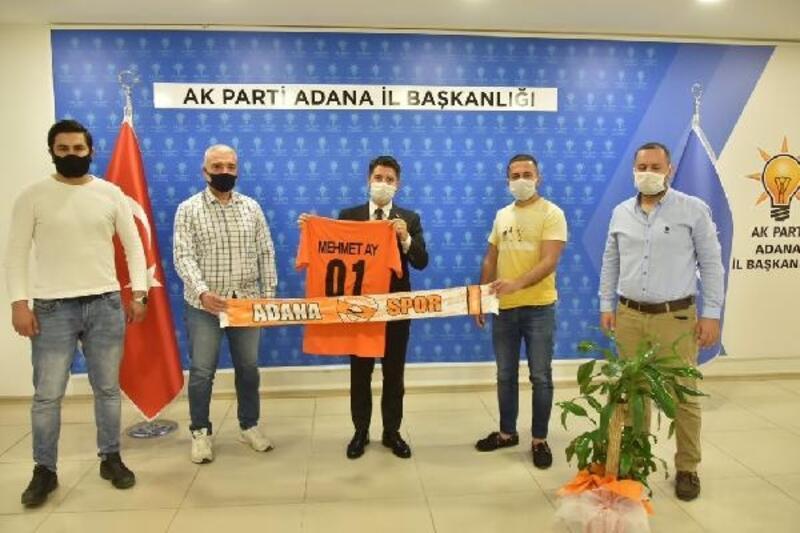 AK Partiİl Başkanı Mehmet Ay:Taraftarlarımızın koltuk rengiyle ilgili taleplerine kayıtsız kalamayız
