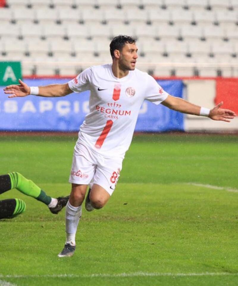 Veysel Sarı oynadı, Antalyaspor kazandı