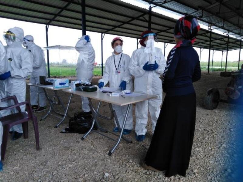 Mevsimlik tarım işçilerine mobil sağlık hizmeti