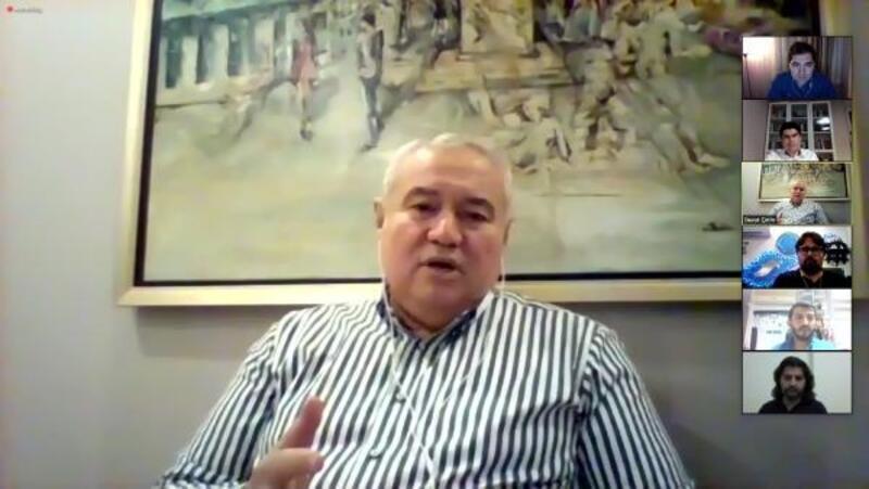 Başkan Çetin, ANTGİAD'ın konuğu