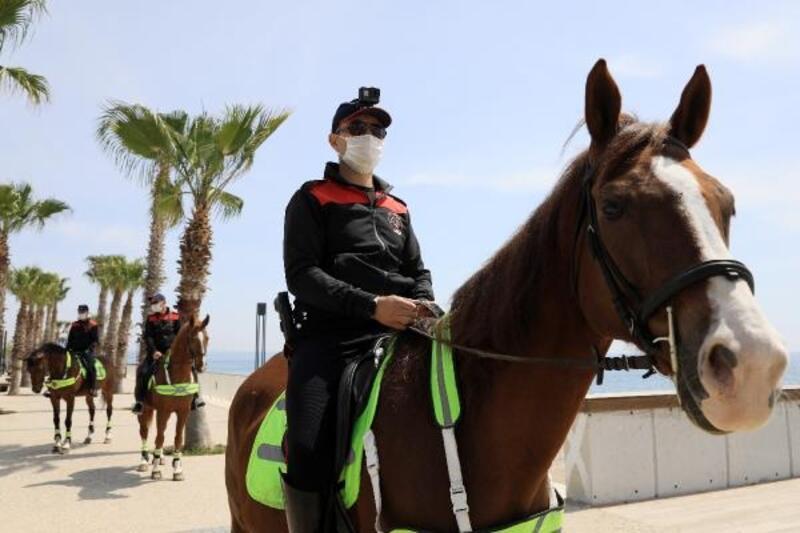 Korkuteli'ne atlı polis geliyor