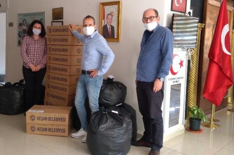 Keşan Halk Eğitim, maske üretiminde 220 bine ulaştı
