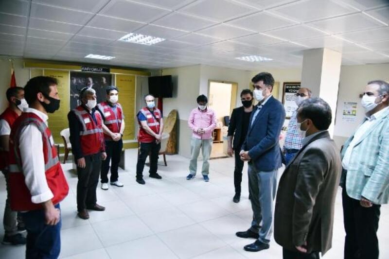 AK Parti İl Başkanı Çalışkan, Vefa Sosyal Destek Grubu'nu ziyaret etti