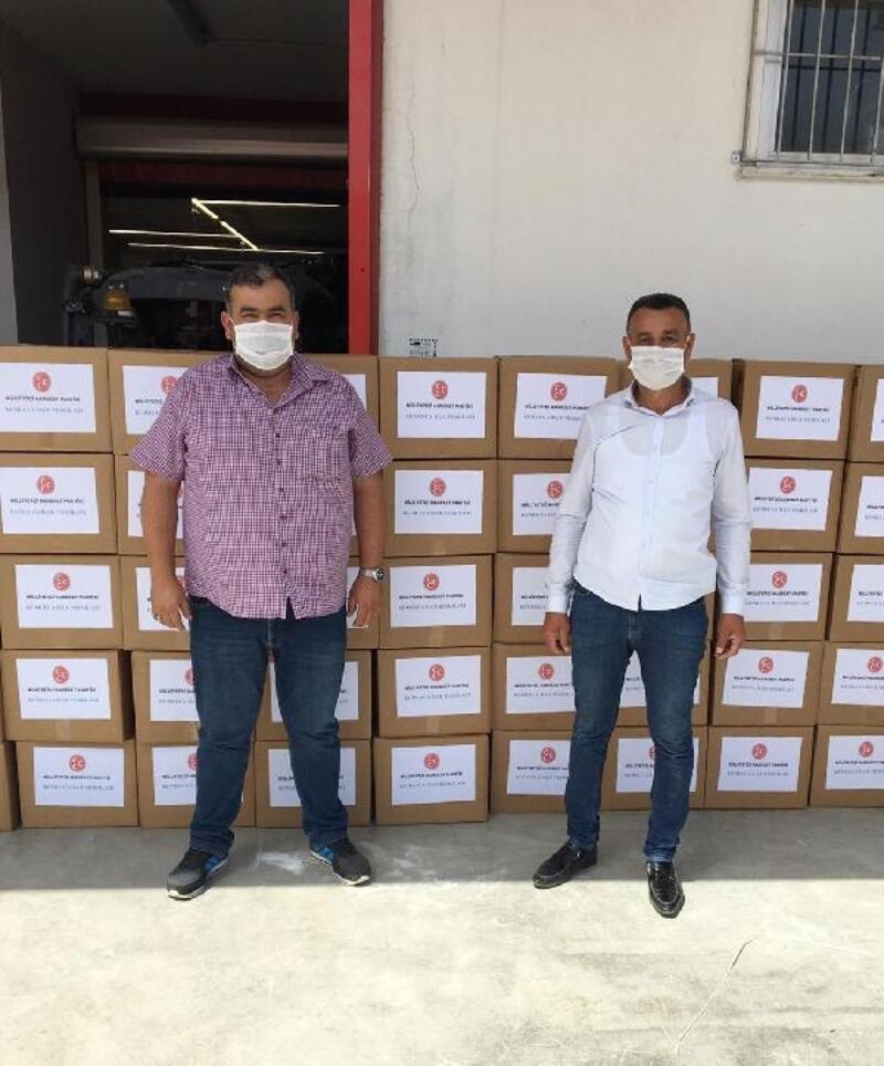 MHP'den gıda desteği