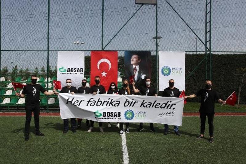 DOSABSİAD, Gençlik ve Spor Bayramı'nı kutladı