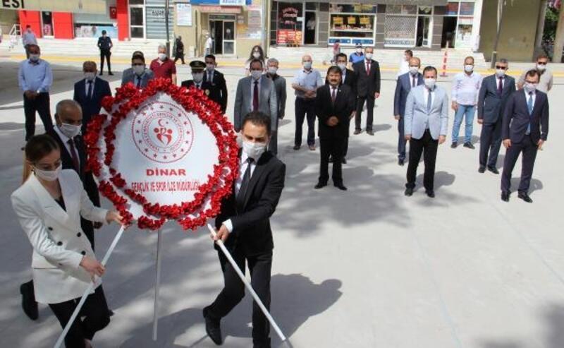 Dinar'da 19 Mayıs kutlandı