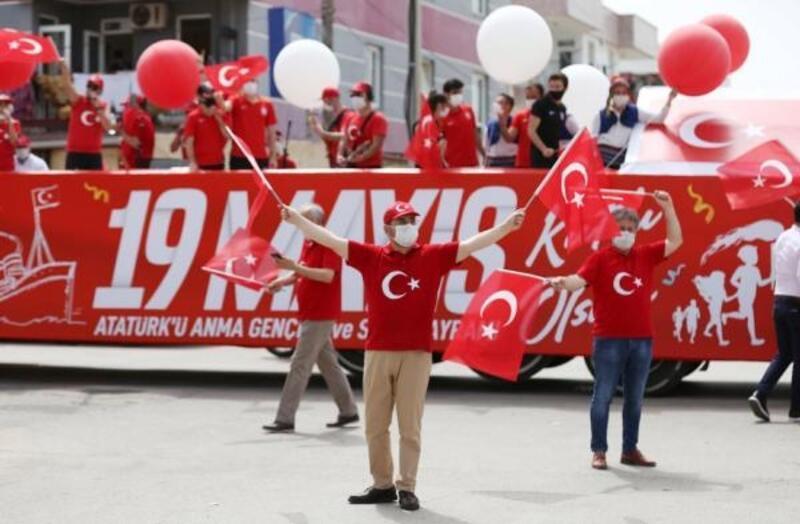 Kepez'de 19 Mayıs coşkusu
