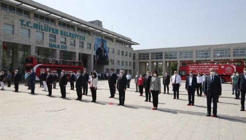 Nilüfer Belediyesi 19 Mayıs'ı coşku ile kutladı