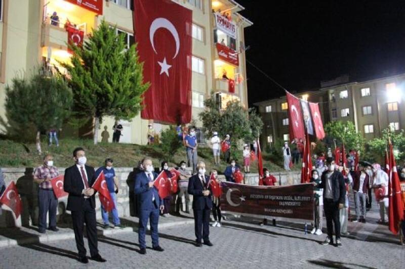 Bucak'ta 19 Mayıs coşkusu