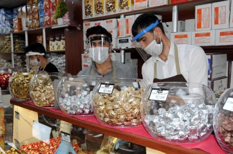 Şekercilerde bayram yoğunluğu