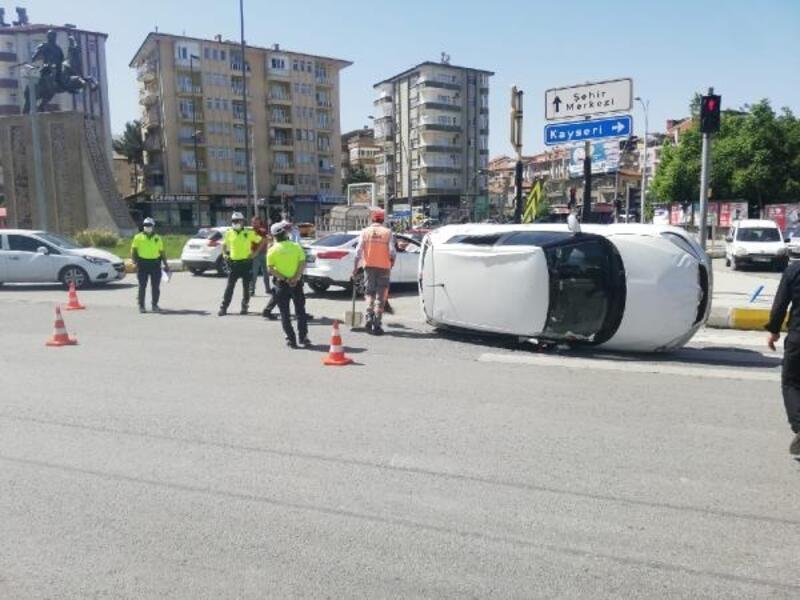 Malatya'da kaza; 1 yaralı