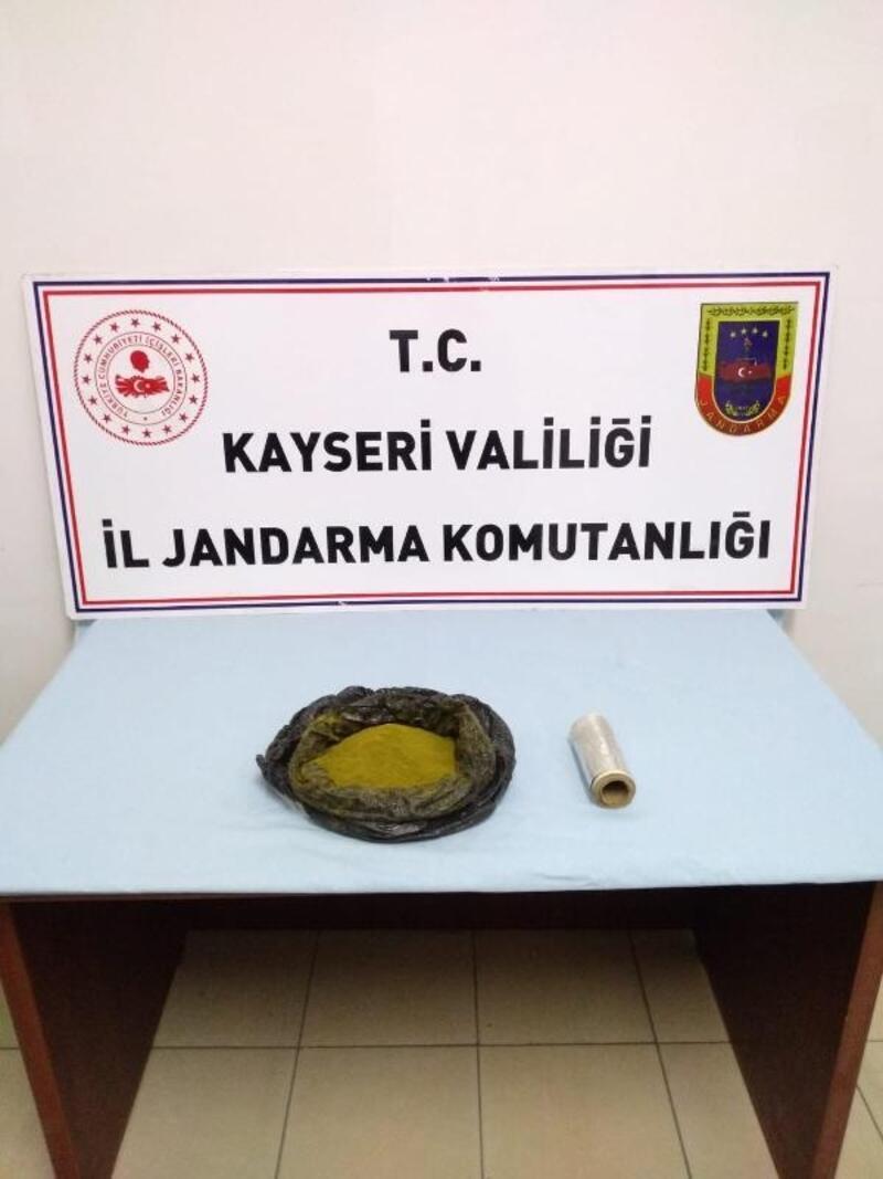 Kayseri'de uyuşturucuya 4 gözaltı