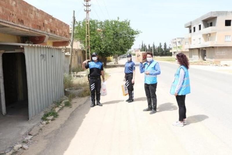 Kızıltepe'de 15 bin aile destek sağlandı