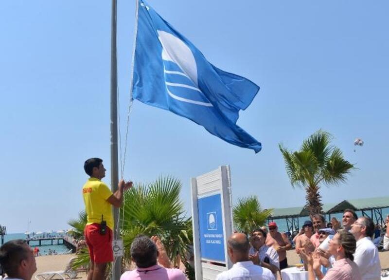 Antalya'ya 4 yeni mavi bayrak