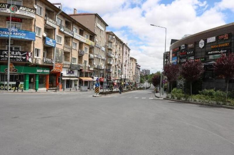 Nevşehir, kısıtlamanın ilk günü sessizliğe büründü
