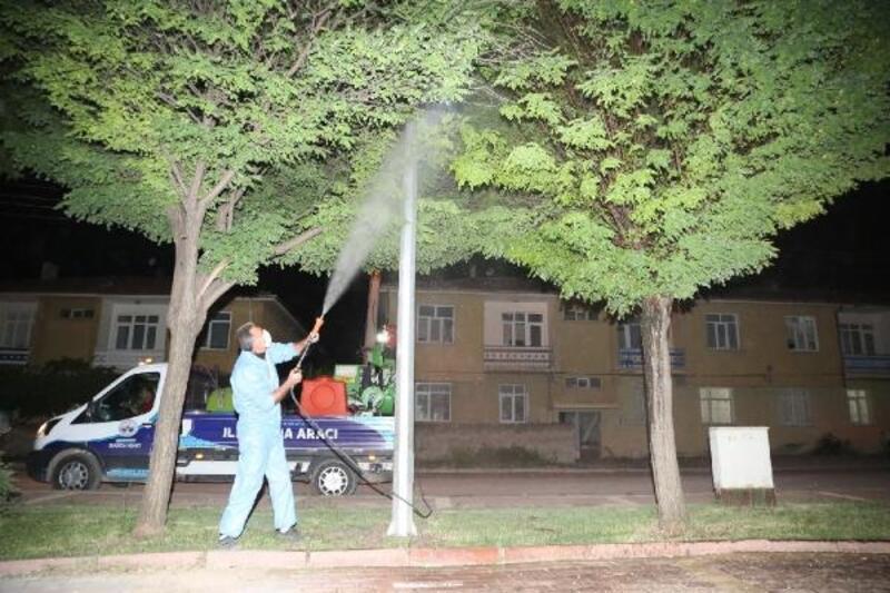 Elazığ Belediyesi, ilaçlama çalışmalarına hız verdi
