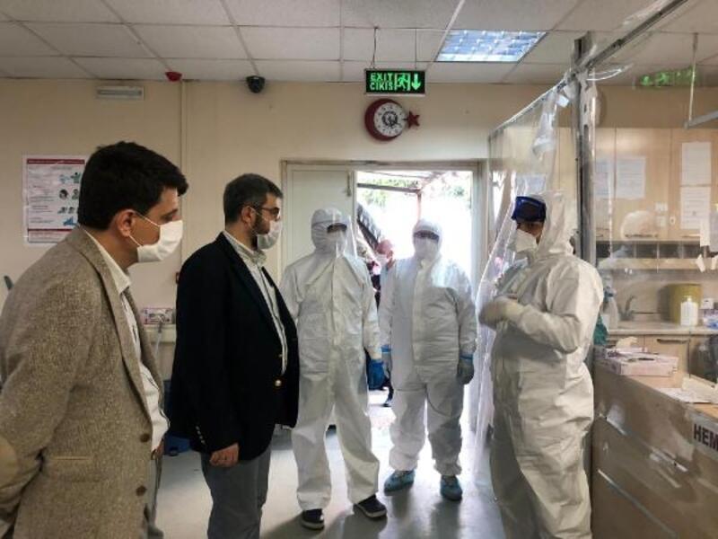 Bursa İl Sağlık Müdürü Kaşıkcı'dan bayram ziyareti