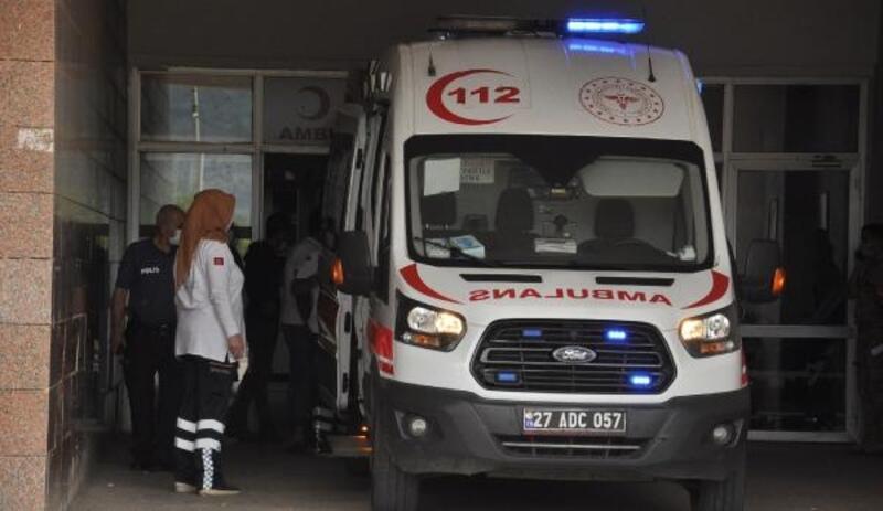 İslahiye'de devrilen motosikletin sürücüsü yaralandı
