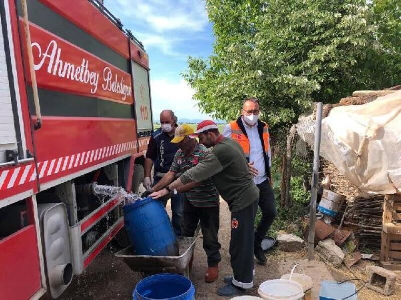 Ahmetbey Belediyesi'nden uzun süreli su kesintisine tedbir